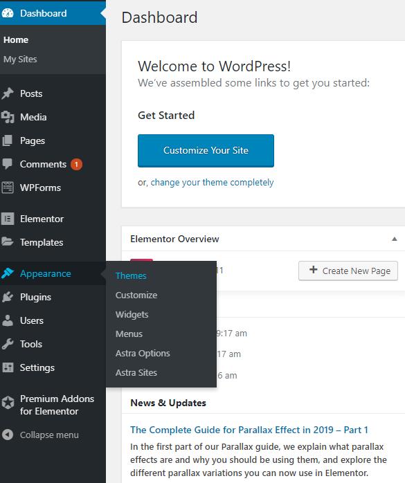 Themes - WordPress Training Brisbane