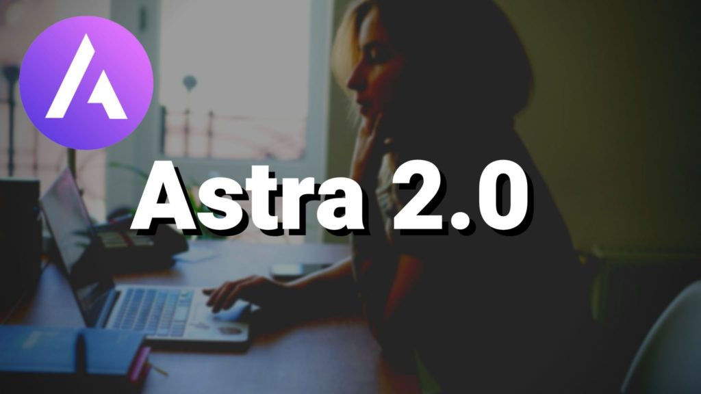 astra 2.0 tutorial with elementor