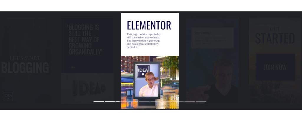 Google Web Stories in Elementor