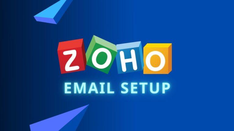 Zoho Email Setup & Review