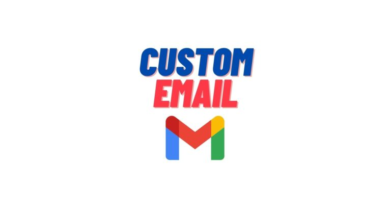 gmail custom email guide